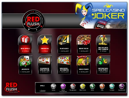 Red Flush Casino Software